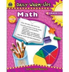 Teacher Created Resources Book Dly Warm-ups : Math Gr-5