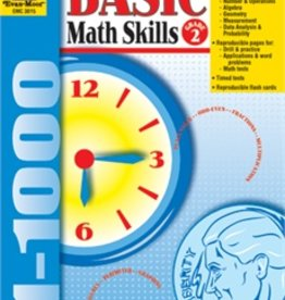 Evan-Moor Book Basic Math Skills   Gr-2