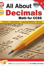 Carson Dellosa Book All About Decimals Gr 6-8