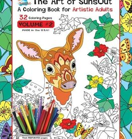 Sunsout Adult Coloring Book Vol.2