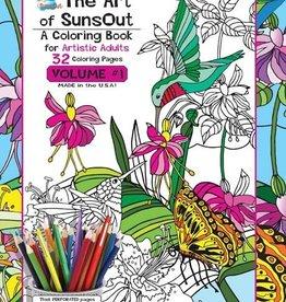 Sunsout Adult Coloring Book Vol.1
