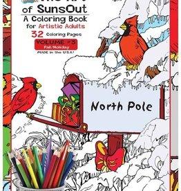 Sunsout Adult Coloring Book Vol.3