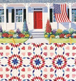Sunsout Red White and Blue 500 pc