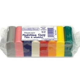 Pacon Corporation Modeling Clay - Bright Hues - 220 grams