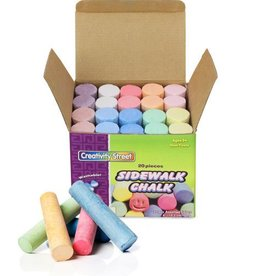 Pacon Corporation Sidewalk Chalk - 20 pcs