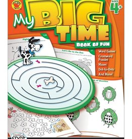 Carson Dellosa My Big Time Book of Fun 4+