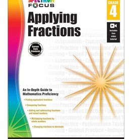 Carson Dellosa Applying Fractions G4