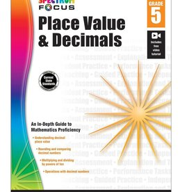 Carson Dellosa Place Value & Decimals G5