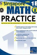 Carson Dellosa Book Singapore Math Pract L-1b