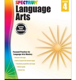 Carson Dellosa Spectrum LANGUAGE ARTS G4