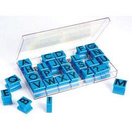 Educational Insights Stamp Set, Regular Size, Uppercase Letters