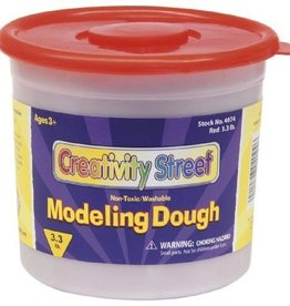 Pacon Corporation Dough Assortment - 3.3 pound tub - Red