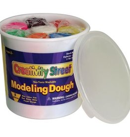 Pacon Corporation Modeling Dough 4oz 8/Pkg-Assorted Colors