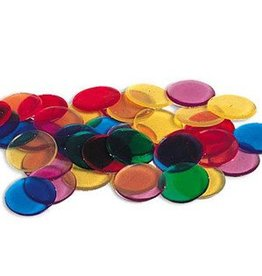 Learning Resources Transparent 6-Color Counting Chips
