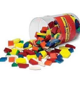 Learning Resources 1 Cm Wooden Pattern Blocks, 250 Pieces