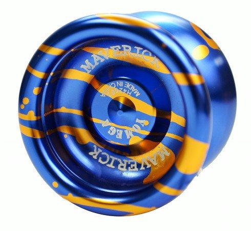 Yomega Maverick  - Wing Shape - Aluminum -  Bearing - Splash and Solids Assortment