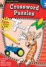 Teacher Created Resources Home Workbook Crosswords Gr-2