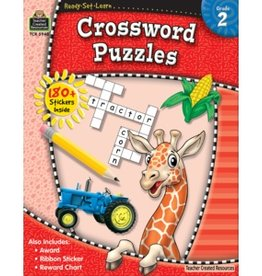 Teacher Created Resources Home Workbook Crosswords Gr-2