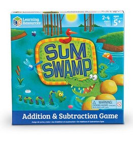 Learning Resources Game Sum Swamp Add & Subtract