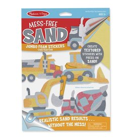 Melissa & Doug Jumbo Foam Stickers - Construction