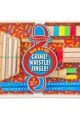 Melissa & Doug Chime! Whistle! Jingle!