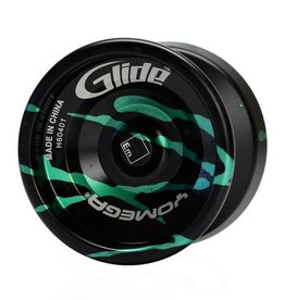 Yomega Glide - Rack Hangable in Bronze, Silver and Black for unresponsive play.  Premium Yo Yo