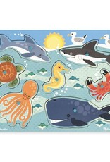 Melissa & Doug Sea Creatures Peg Puzzle