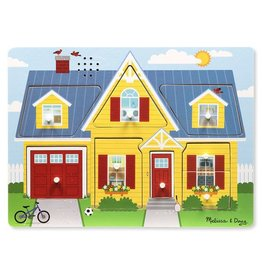 Melissa & Doug Around the House Before and After Sound Puzzle