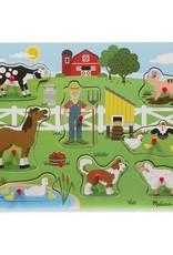 Melissa & Doug Old MacDonald's Farm Song Sound Puzzle