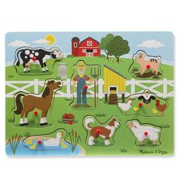 Melissa & Doug Old MacDonald's Farm Song Sound Puzzle