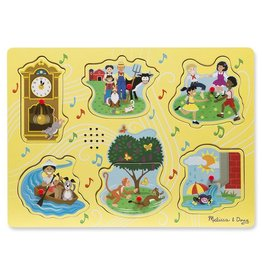 Melissa & Doug Sing-Along Nursery Rhymes 1 Song Sound Puzzle