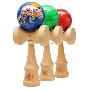 Yomega 680-COY Kendama Pro Coyote Series Water Dip Finish