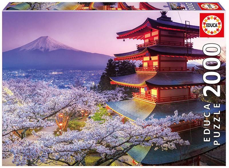 Educa® Borras® 2000 MOUNT FUJI, JAPAN