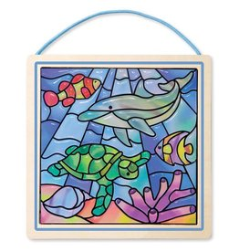 Melissa & Doug Ocean Stained Glass Made Easy