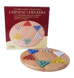 John N. Hansen Co. CHINESE CHECKERS W/MARBLES