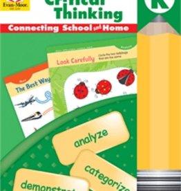 Evan-Moor Skill Sharpeners Critical Thinking Grade Pre-K