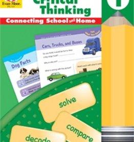 Evan-Moor Skill Sharpeners Critical Thinking Grade 1