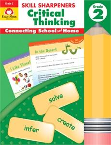 Evan-Moor Skill Sharpeners Critical Thinking Grade 2