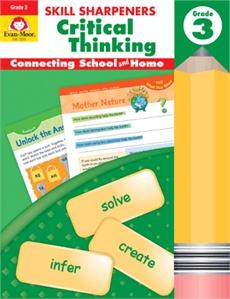 Evan-Moor Skill Sharpeners Critical Thinking Grade 3