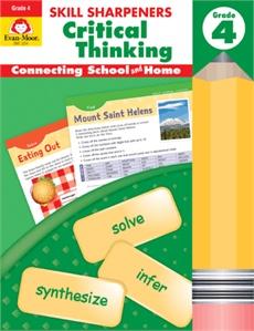 Evan-Moor Skill Sharpeners Critical Thinking Grade 4