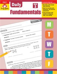 Evan-Moor Daily Fundamentals Grade 3