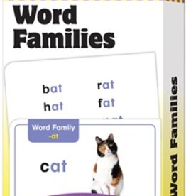 Evan-Moor word families flash cards