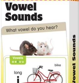 Evan-Moor vowel sounds flash cards
