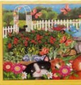 Sunsout Garden Play Time 63 Pc Puzzle