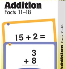 Evan-Moor Addition Facts 11-18 Flash Cards