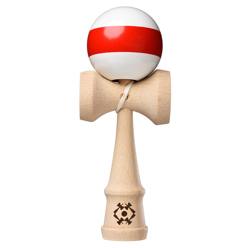 Tribute kendama tribute stripe red and white