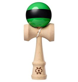 Tribute kendama tribute stripe green and black