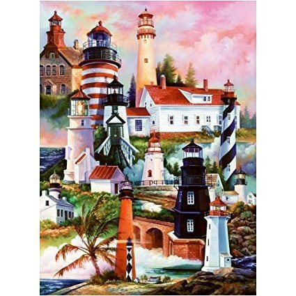 Sunsout Lighthouses 1000 piece