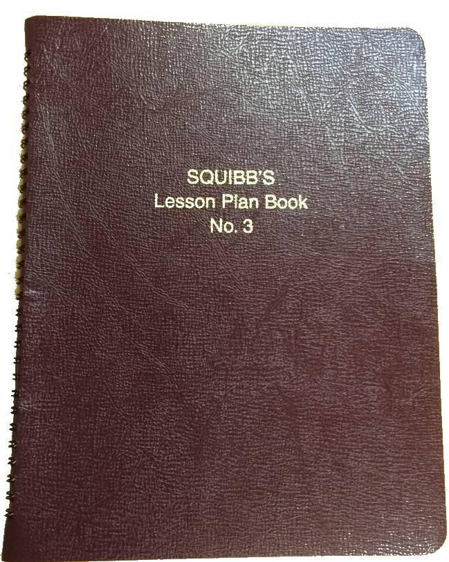 Squibb Squibb Plan Book #3