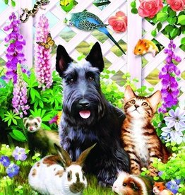Sunsout Garden Pals 500pc. jigsaw
